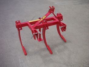 Horticultural subsoiler with 400 mm working depth