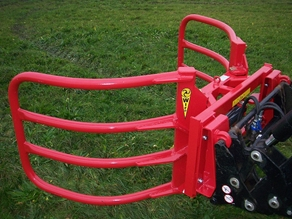 Bale clamp for round bales up to Ø1300 mm
