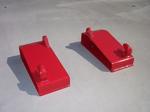Attachment parts for frontloader/reachtruck/shovel
