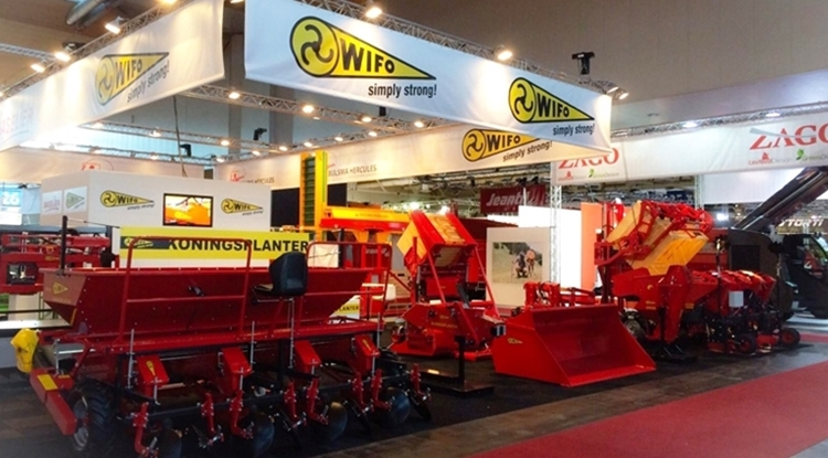 WIFO at Agritechnica 2015