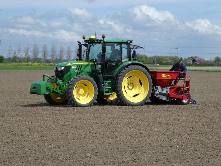 WIFO provides a demo precision planter for the coming planting season of 2018