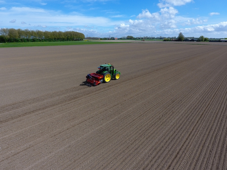 Demo Precisieplanter PP80